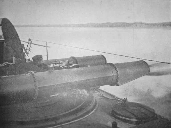 Torpedo director on the deck of the Australian torpedo boat HMVS Countess of Hopetoun