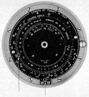 Range finder dials of the periscope 91KA40T/1.414HA (Type II) installed     on American submarines Gato and Balao class