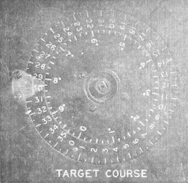 Zespolony wskaźnik kursu amerykańskiego kalkulatora torpedowego
