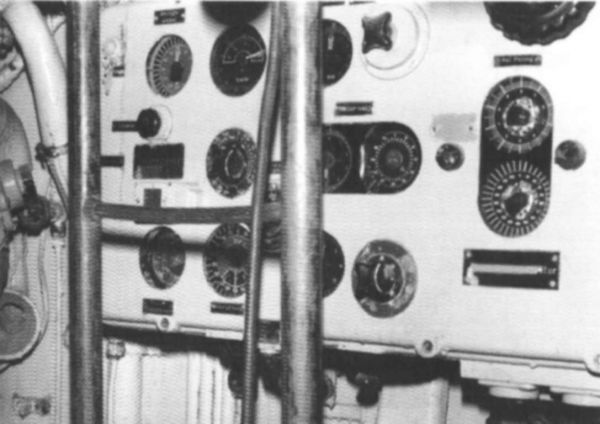 The torpedo data computer in U 995's conning tower