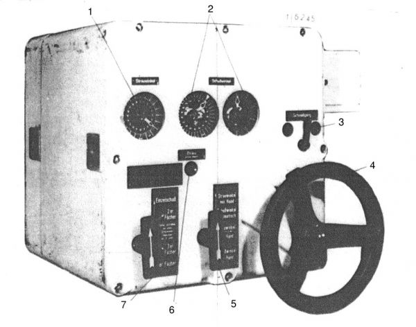 The gyro angle receiver for forward torpedo tubes
