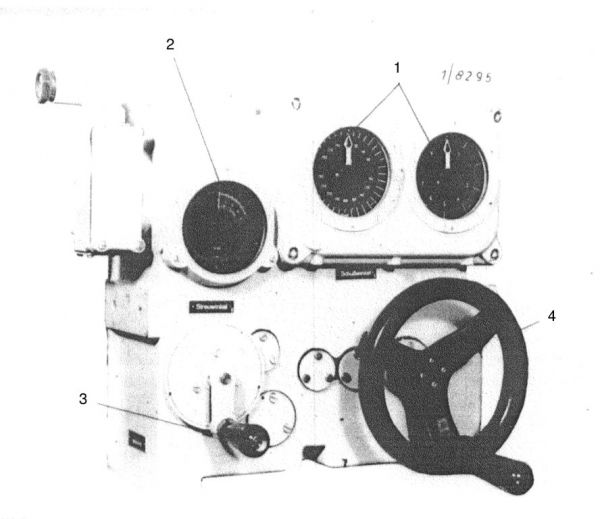 The gyro angle receiver for aft torpedo tubes of the type IX and XB U-Boats