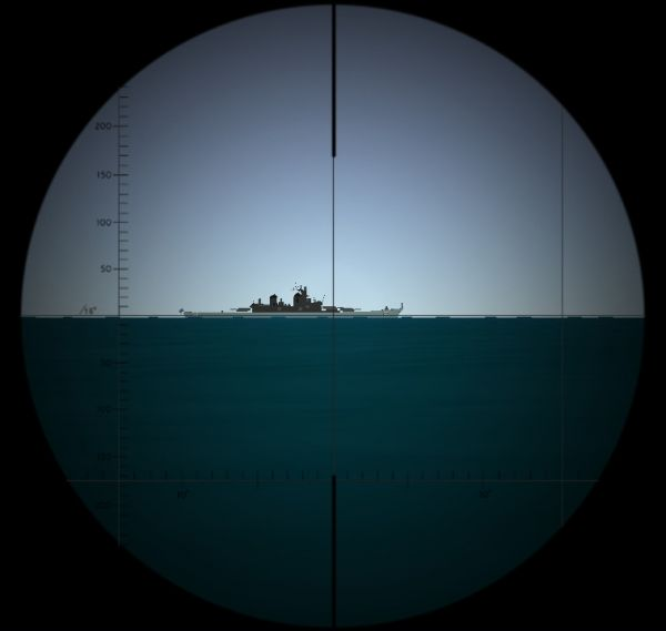 The visualization of the view through the type ASR C/13 attack periscope