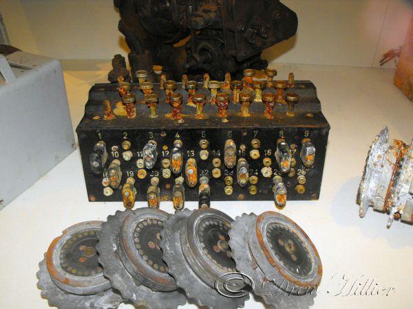 Mechanizm sterujący Lut w muzeum w Birkenhead